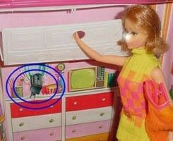 what it would look like in Barbie's home