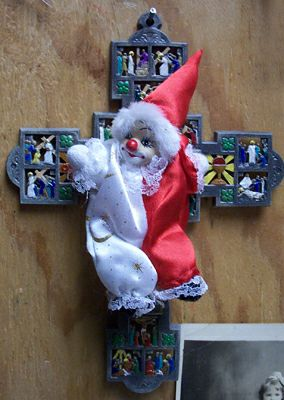 Clown Crucifix